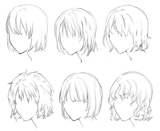Anime Hairstyles For Short Hair  Short Anime Style Hairstyles