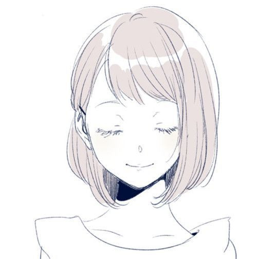 Anime Hairstyles For Short Hair  anime lovely and manga image