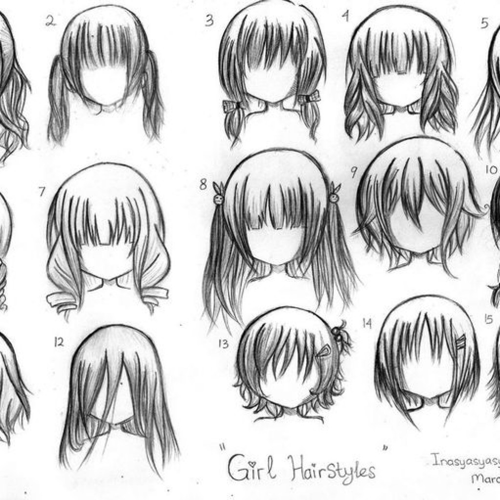Anime Hairstyles For Short Hair  Short Anime Hairstyles for