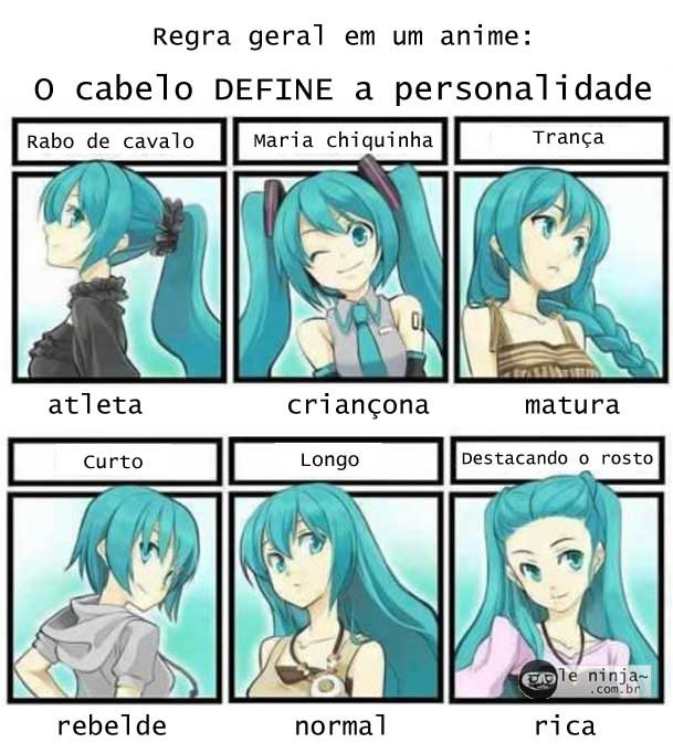 Anime Mother Hairstyle Of Death  regra geral dos animes Le Ninja