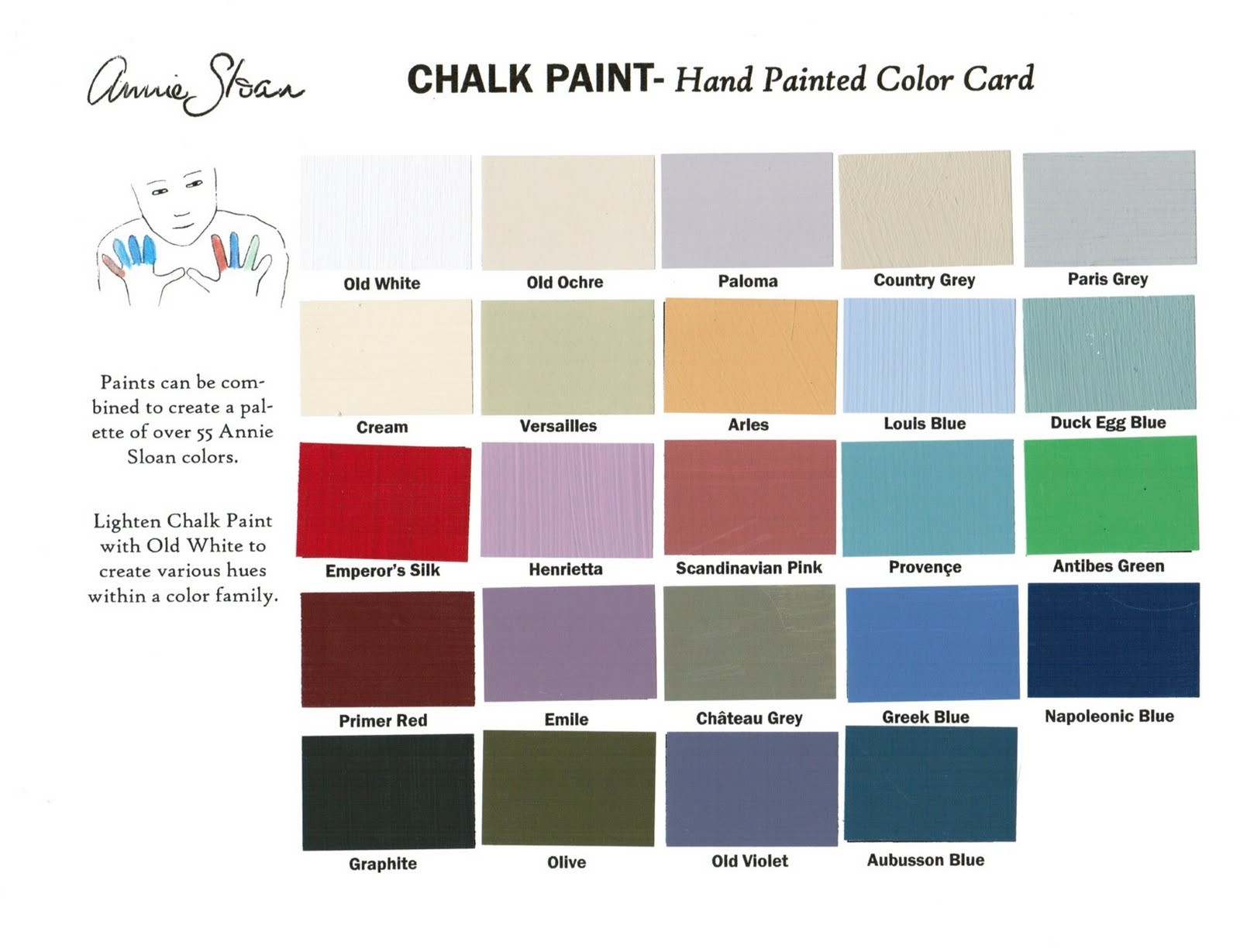 Best ideas about Annie Sloan Paint Colors . Save or Pin annie sloan chalk paint Johnny & Gypsy Now.