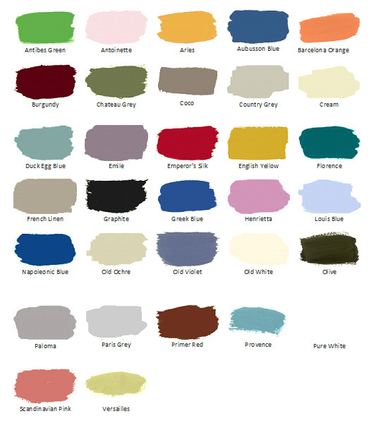 Best ideas about Annie Sloan Paint Colors . Save or Pin Chalk Paint by Annie Sloan Now.