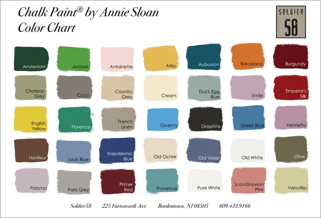 Best ideas about Annie Sloan Paint Colors . Save or Pin Chalk Paint by Annie Sloan Sol r58 Now.