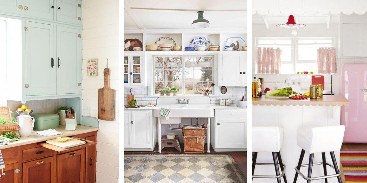 Best ideas about Antique Kitchen Decor . Save or Pin 20 Vintage Kitchen Decorating Ideas Design Inspiration Now.