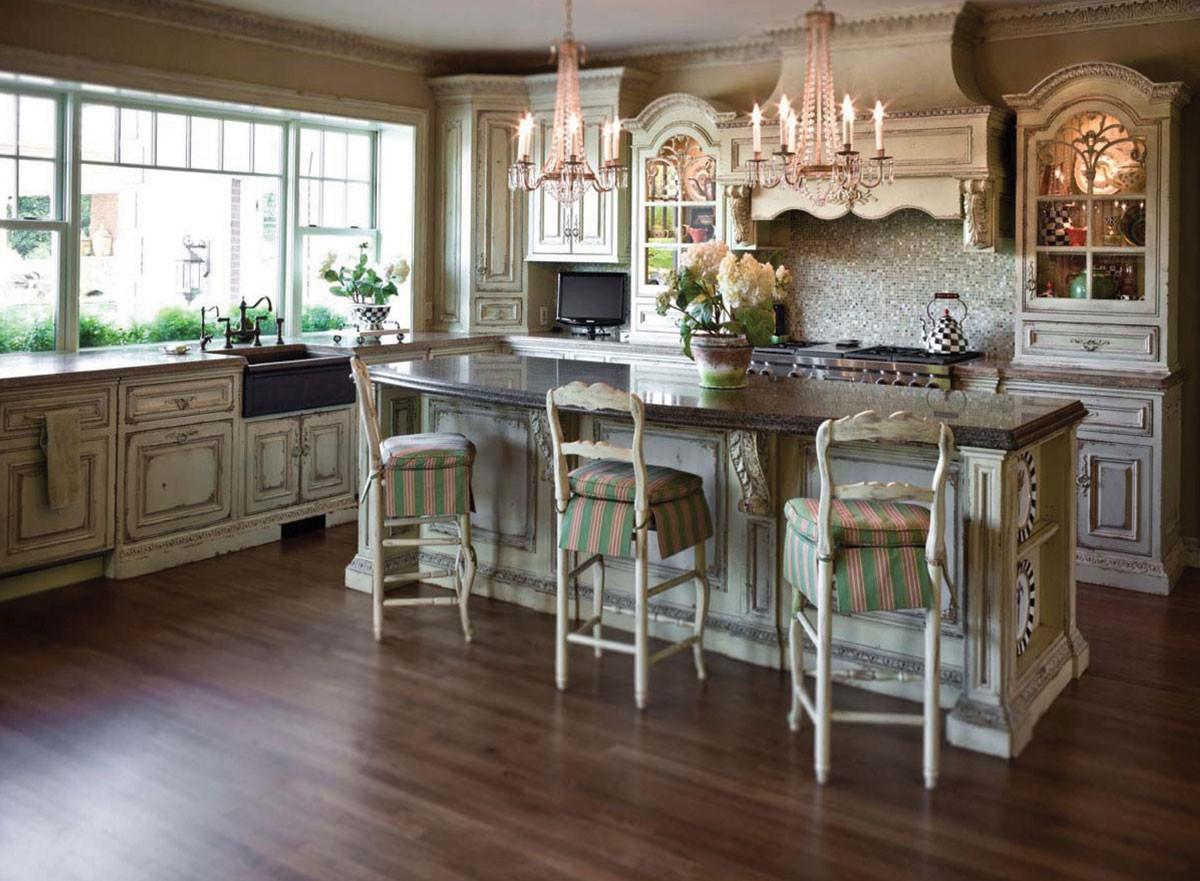 Best ideas about Antique Kitchen Decor . Save or Pin Antique White Kitchen Cabinets for Terrific Kitchen Design Now.