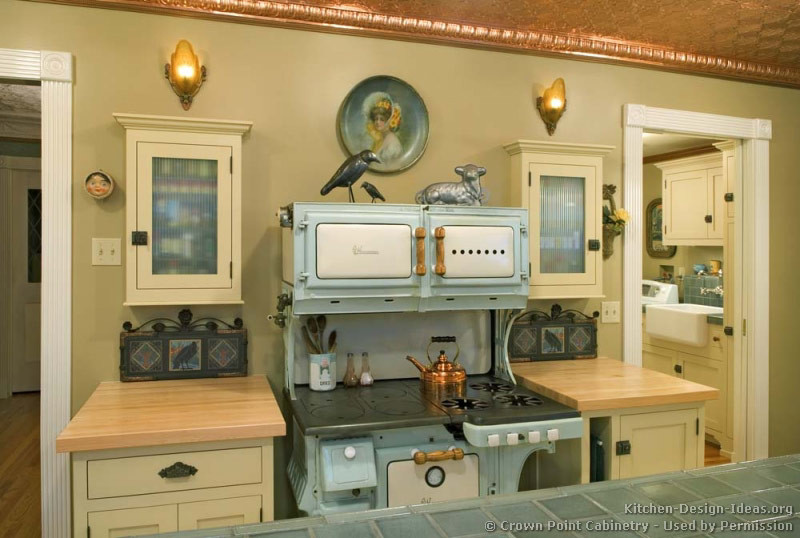 Best ideas about Antique Kitchen Decor . Save or Pin Vintage Kitchen Cabinets Decor Ideas and s Now.