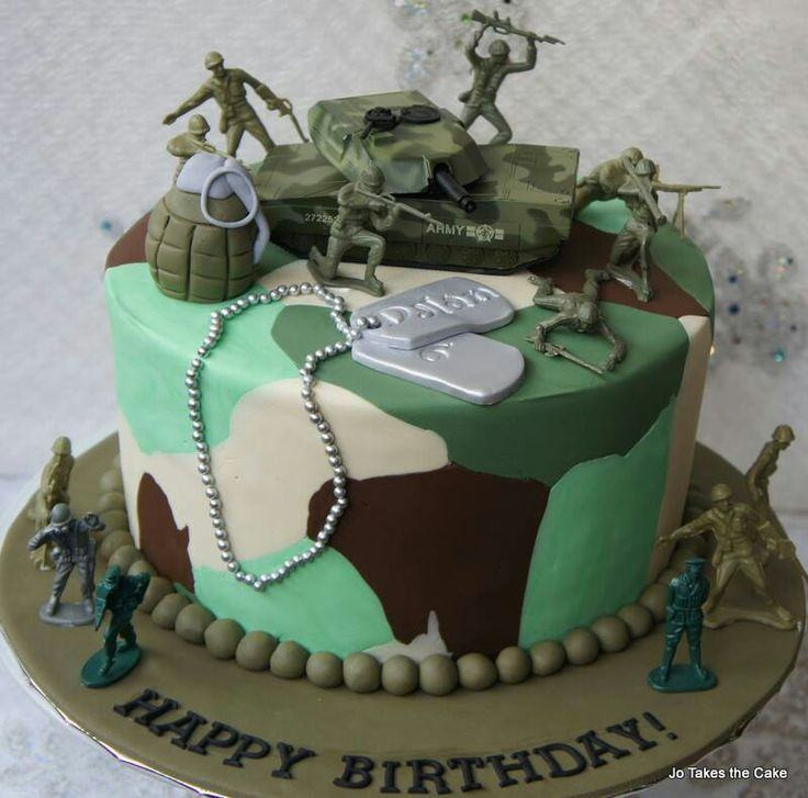 Army Birthday Cake  Army birthday cake