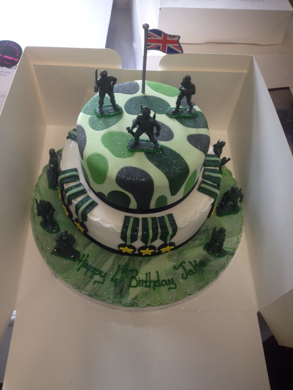 Army Birthday Cake  Army Theme Cake Peter Herd