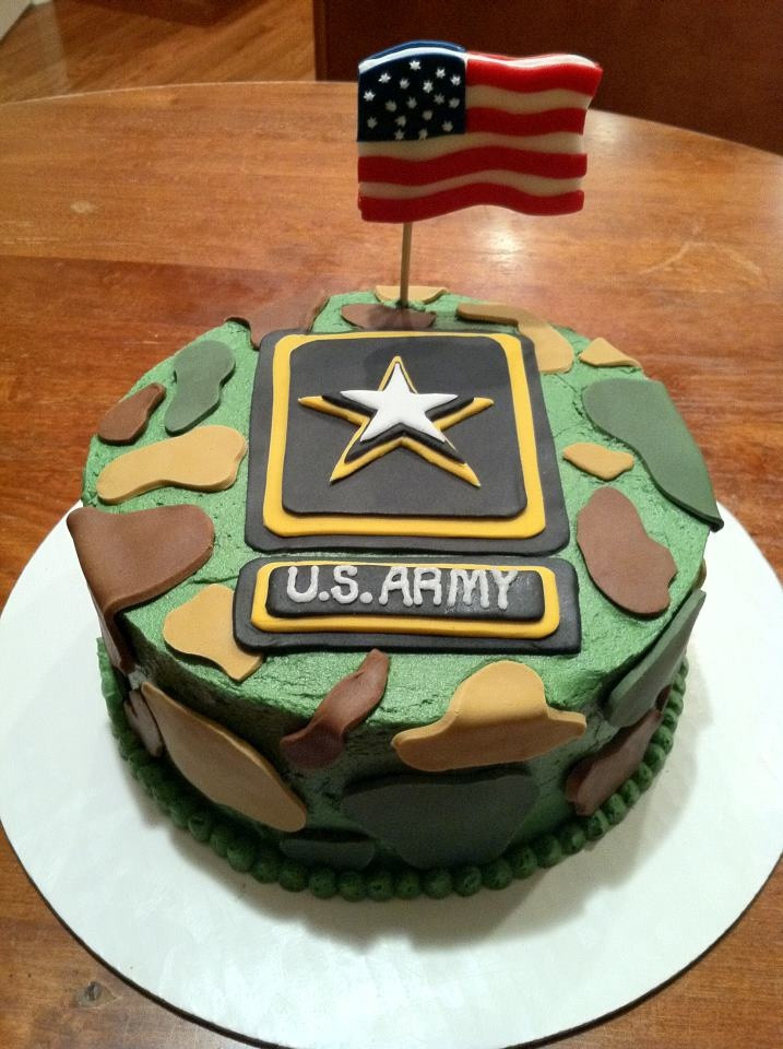 Army Birthday Cake  MilitaryMonday Army Birthday More than Just Cake