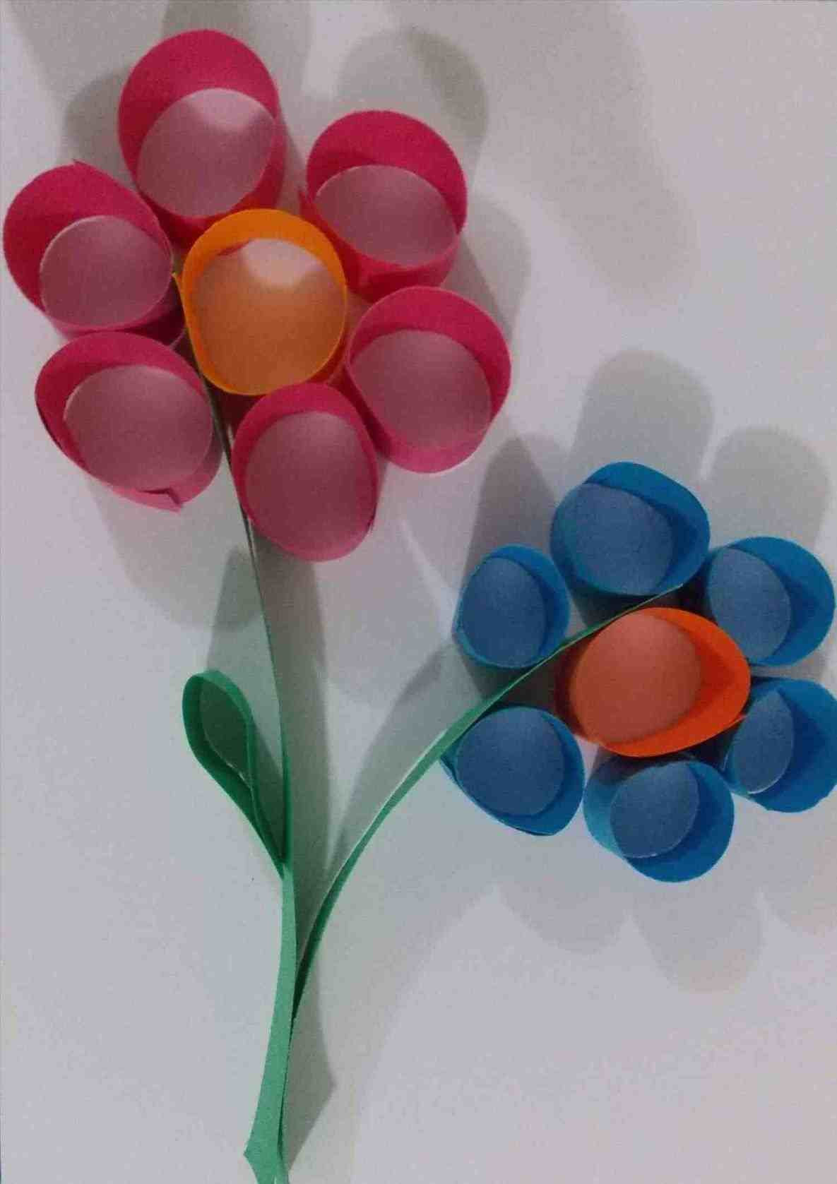 Best ideas about Art And Craft Ideas For Preschoolers . Save or Pin Easy Crafts For Kids To Make At Home With Paper Now.