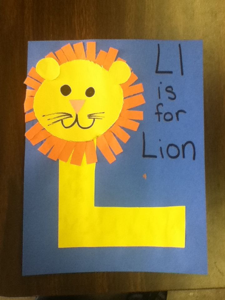 Best ideas about Art And Craft Ideas For Preschoolers . Save or Pin Best s of Letter L Crafts Letter L Preschool Craft Now.