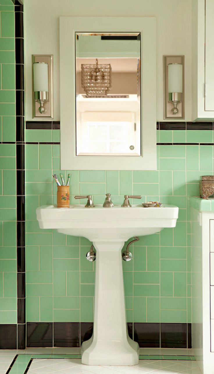 Best ideas about Art Deco Bathroom . Save or Pin The 25 best ideas about Art Deco Bathroom on Pinterest Now.