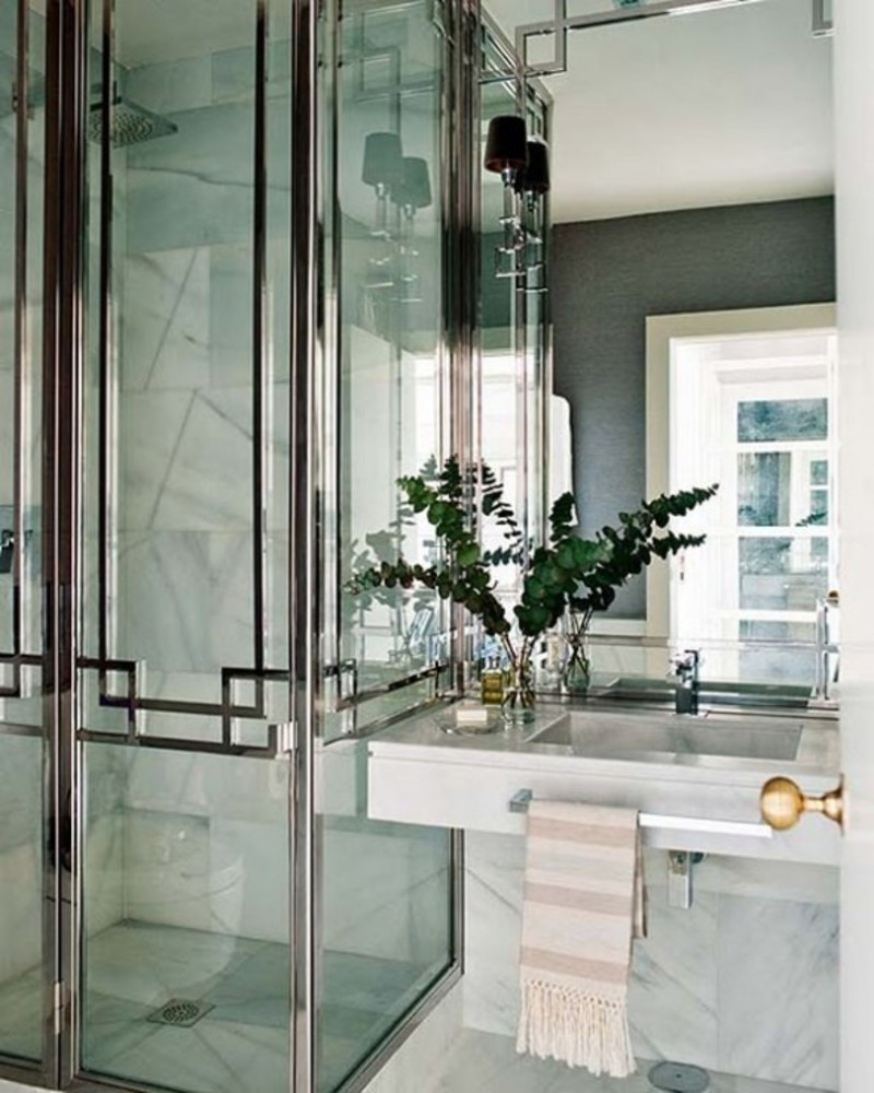 Best ideas about Art Deco Bathroom . Save or Pin 30 magnificent pictures and ideas art deco bathroom floor Now.