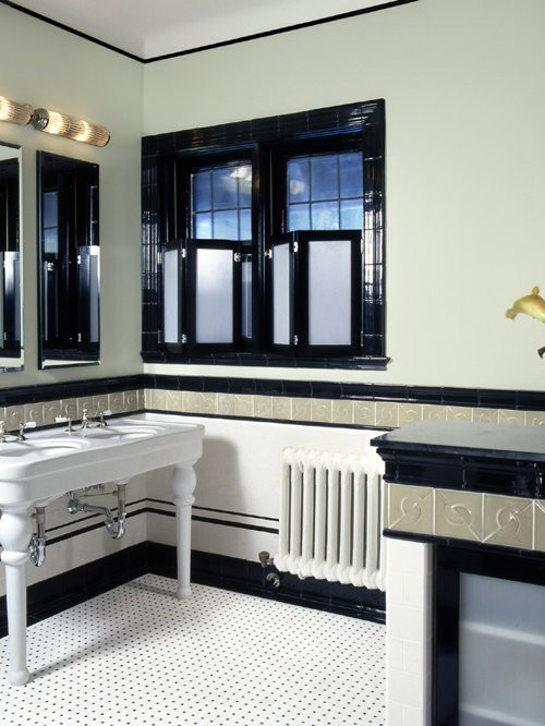 Best ideas about Art Deco Bathroom . Save or Pin Art Deco Bathrooms Now.