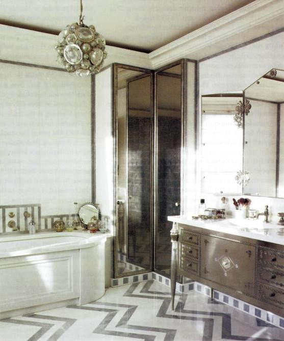 Best ideas about Art Deco Bathroom . Save or Pin 15 Art Deco Bathroom Designs To Inspire Your Relaxing Now.
