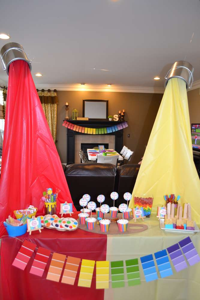 Best ideas about Art Party Ideas For Adults . Save or Pin 13 Art Party Ideas Now.