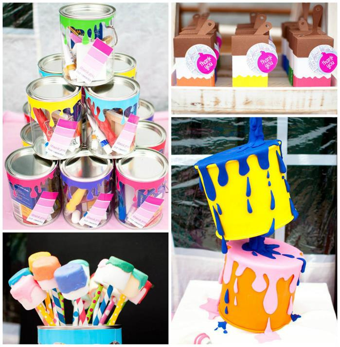 Best ideas about Art Party Ideas For Adults . Save or Pin Kara s Party Ideas Painting Party Ideas Supplies Idea Cake Now.