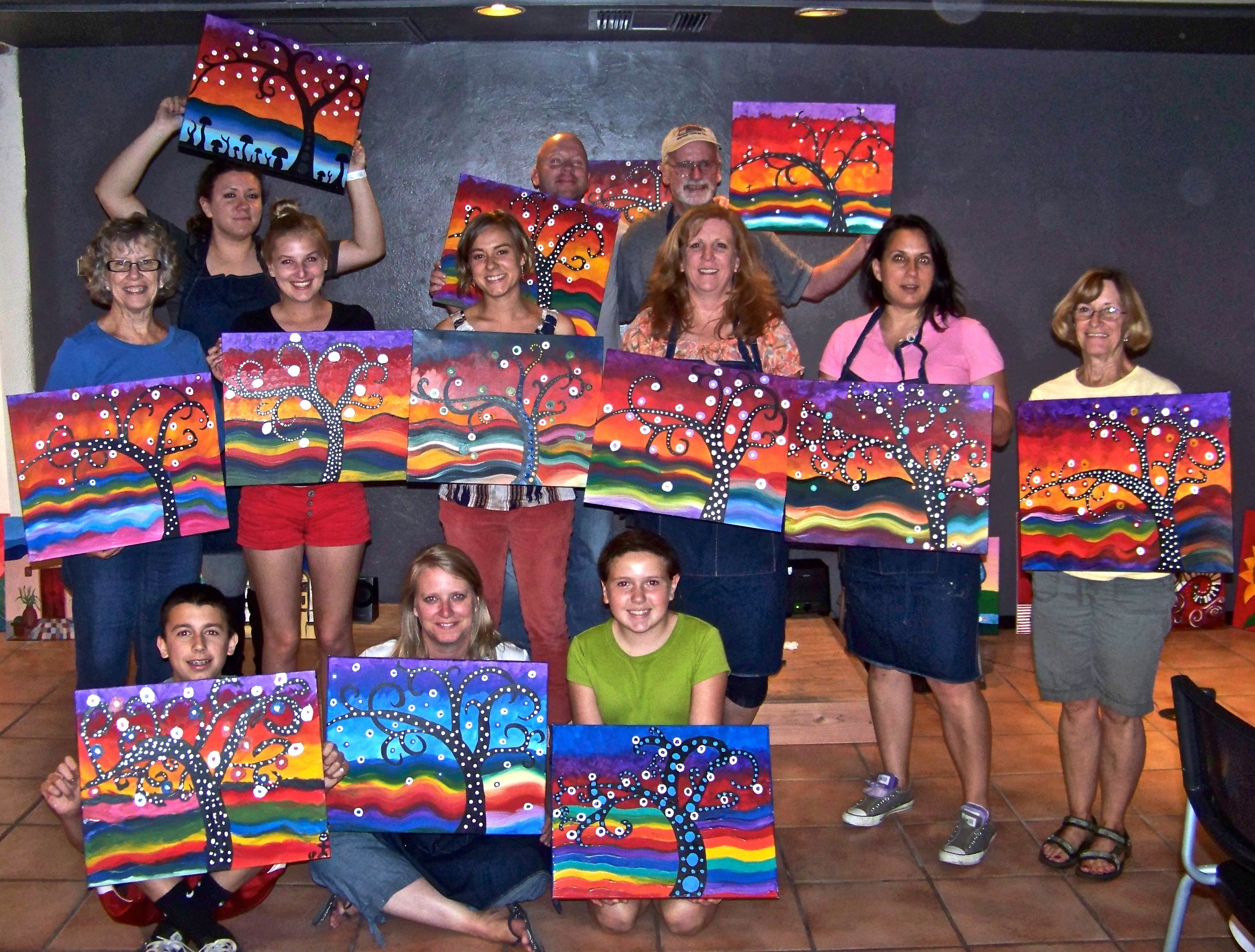 Best ideas about Art Party Ideas For Adults . Save or Pin adult paint party Google Search Now.