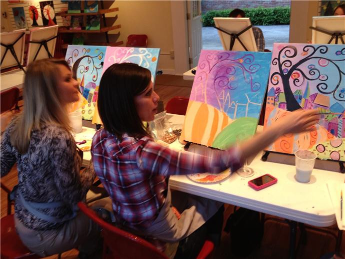 Best ideas about Art Party Ideas For Adults . Save or Pin Party Studio Columbus Art Painting Parties Now.