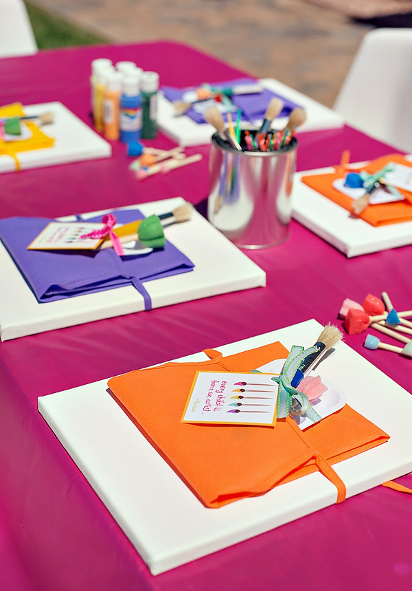 Best ideas about Art Party Ideas For Adults . Save or Pin 12 Birthday Party Craft Activities for Kids SohoSonnet Now.