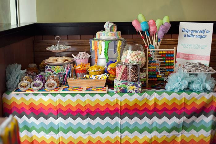 Best ideas about Art Party Ideas For Adults . Save or Pin Kara s Party Ideas Pantone Art Paint Party Planning Ideas Now.