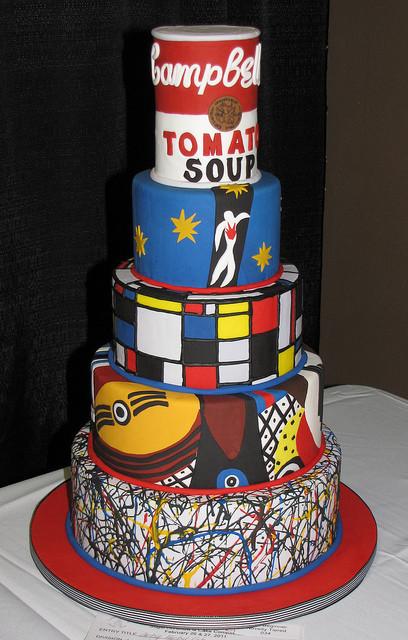 Artsy Birthday Cake  Artsy Fartsy Cake by Renee Main