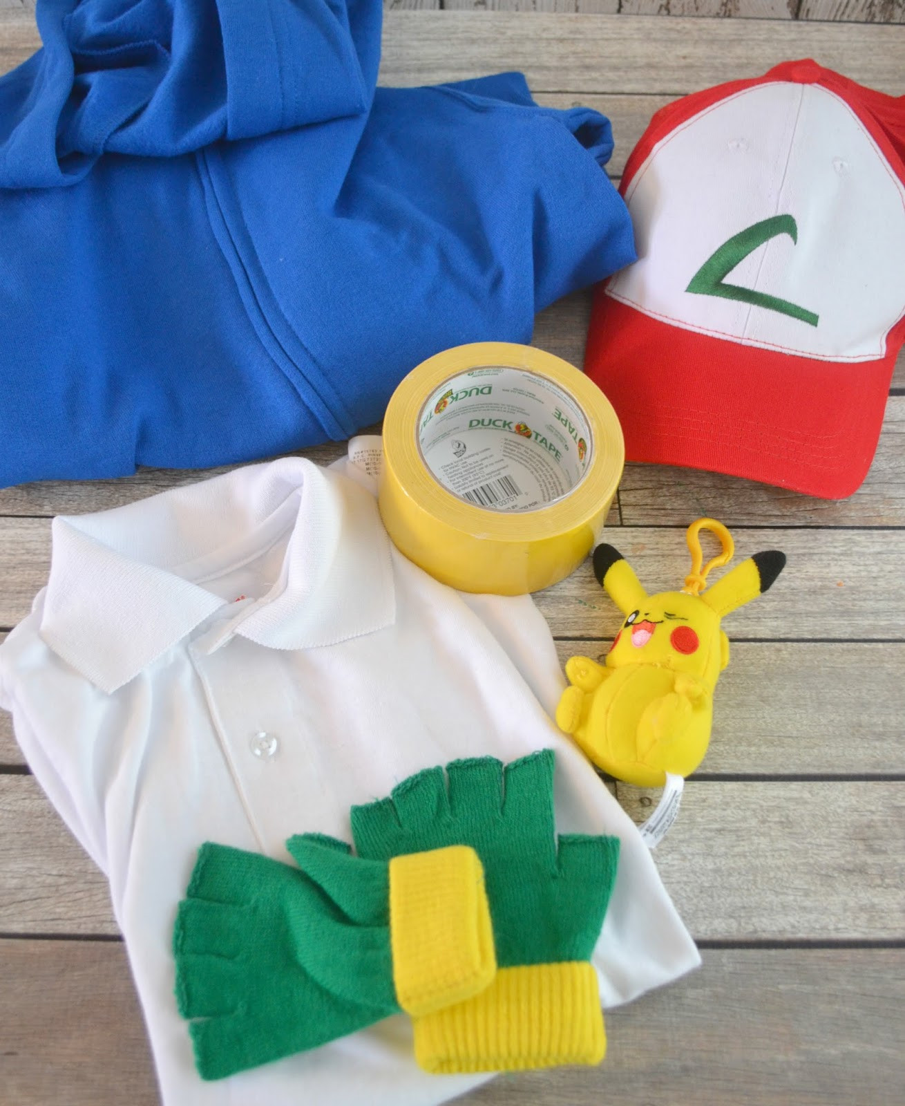 Ash Pokemon Costume DIY  Ash Ketchum Pokemon DIY Halloween Costume