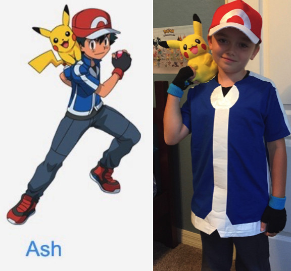 Ash Pokemon Costume DIY  DIY Pokemon Costume For $20 Halloween Costume For Kids