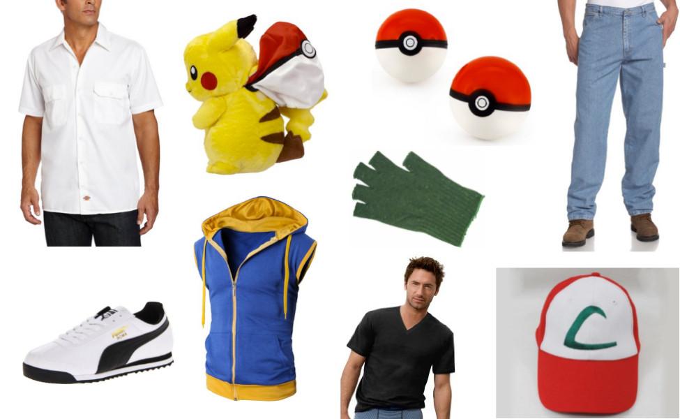 Ash Pokemon Costume DIY  Ash Ketchum Costume