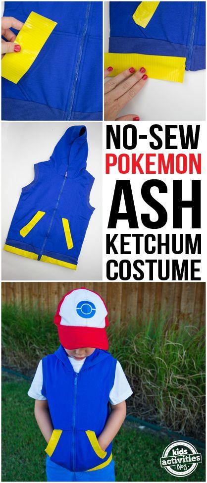 Ash Pokemon Costume DIY  25 best ideas about Pikachu costume on Pinterest
