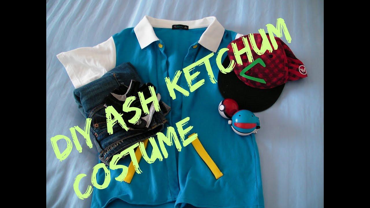 Ash Pokemon Costume DIY  DIY Ash ketchum costume cosplay JackieAndTT