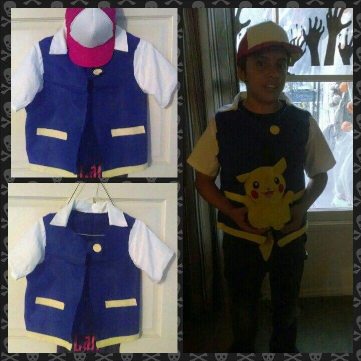 Ash Pokemon Costume DIY  DIY Ash Ketchum Costume Sew What