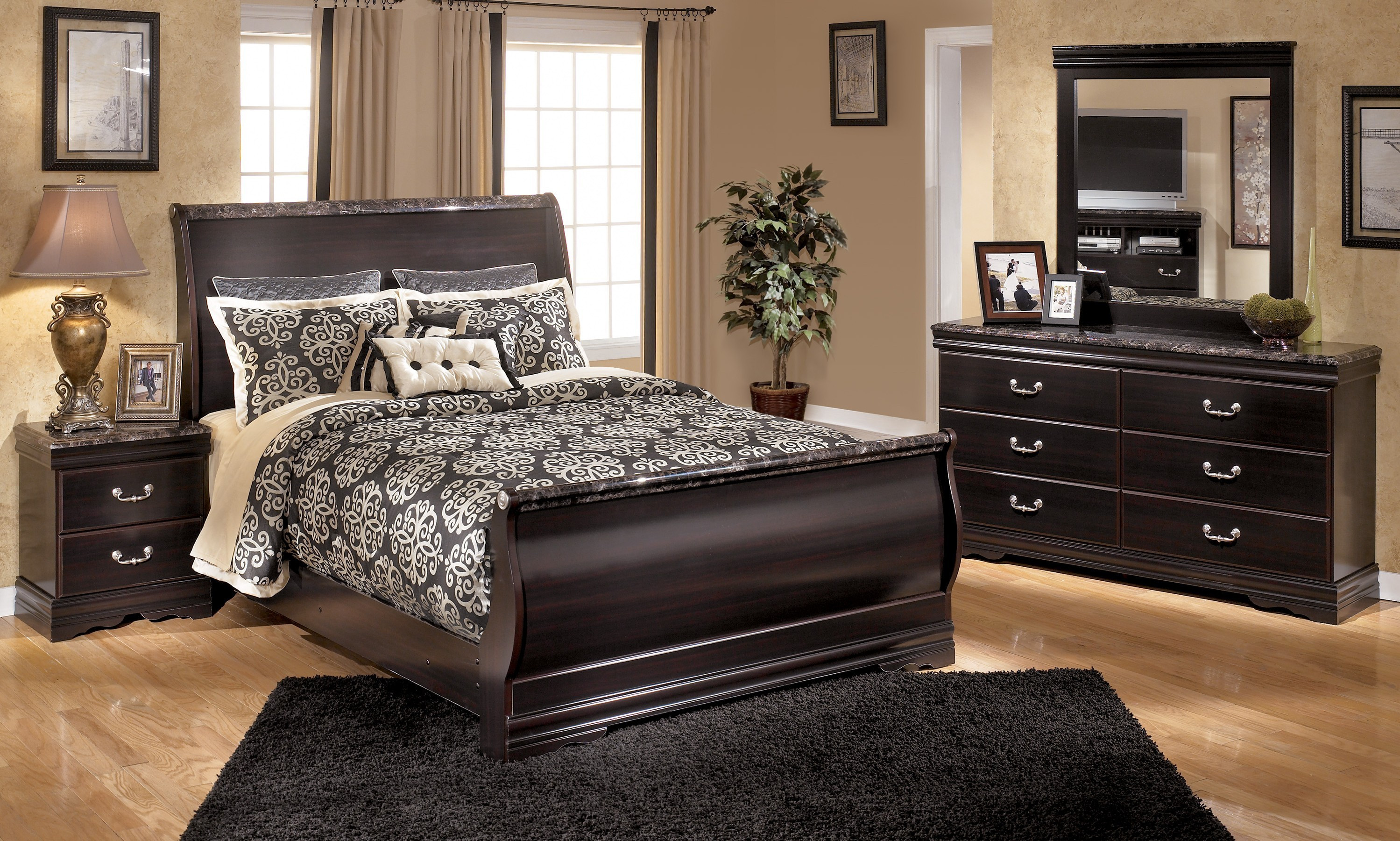 Best ideas about Ashley Bedroom Sets . Save or Pin Ashley Furniture South Coast Bedroom Set Reviews HOME Now.
