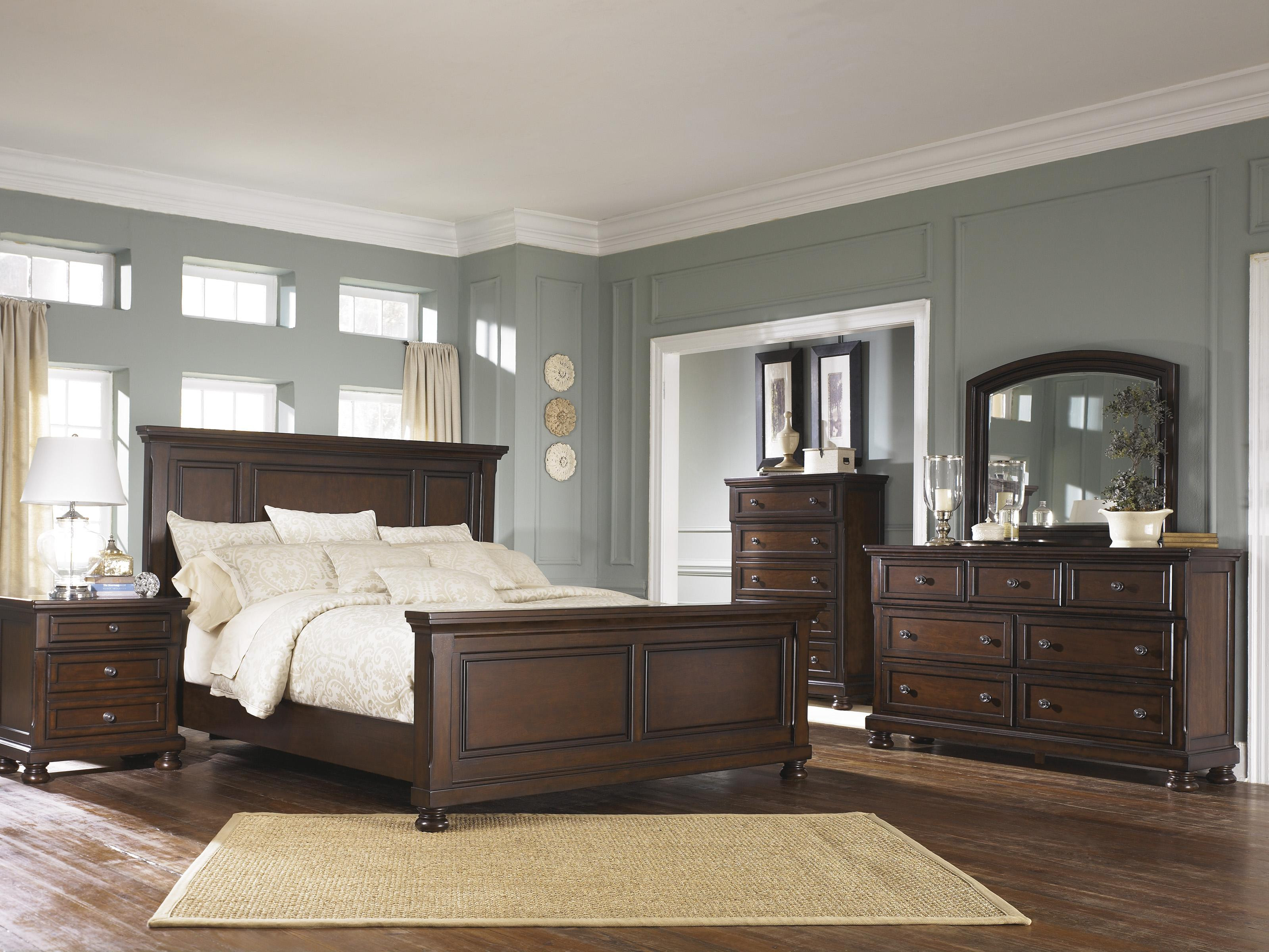 Best ideas about Ashley Bedroom Sets . Save or Pin Ashley Furniture Porter Queen Bedroom Group Now.