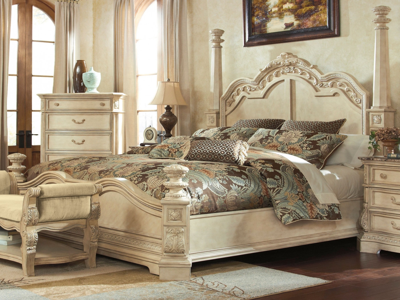 Best ideas about Ashley Bedroom Sets . Save or Pin Old bedroom furniture ashley furniture millennium bedroom Now.