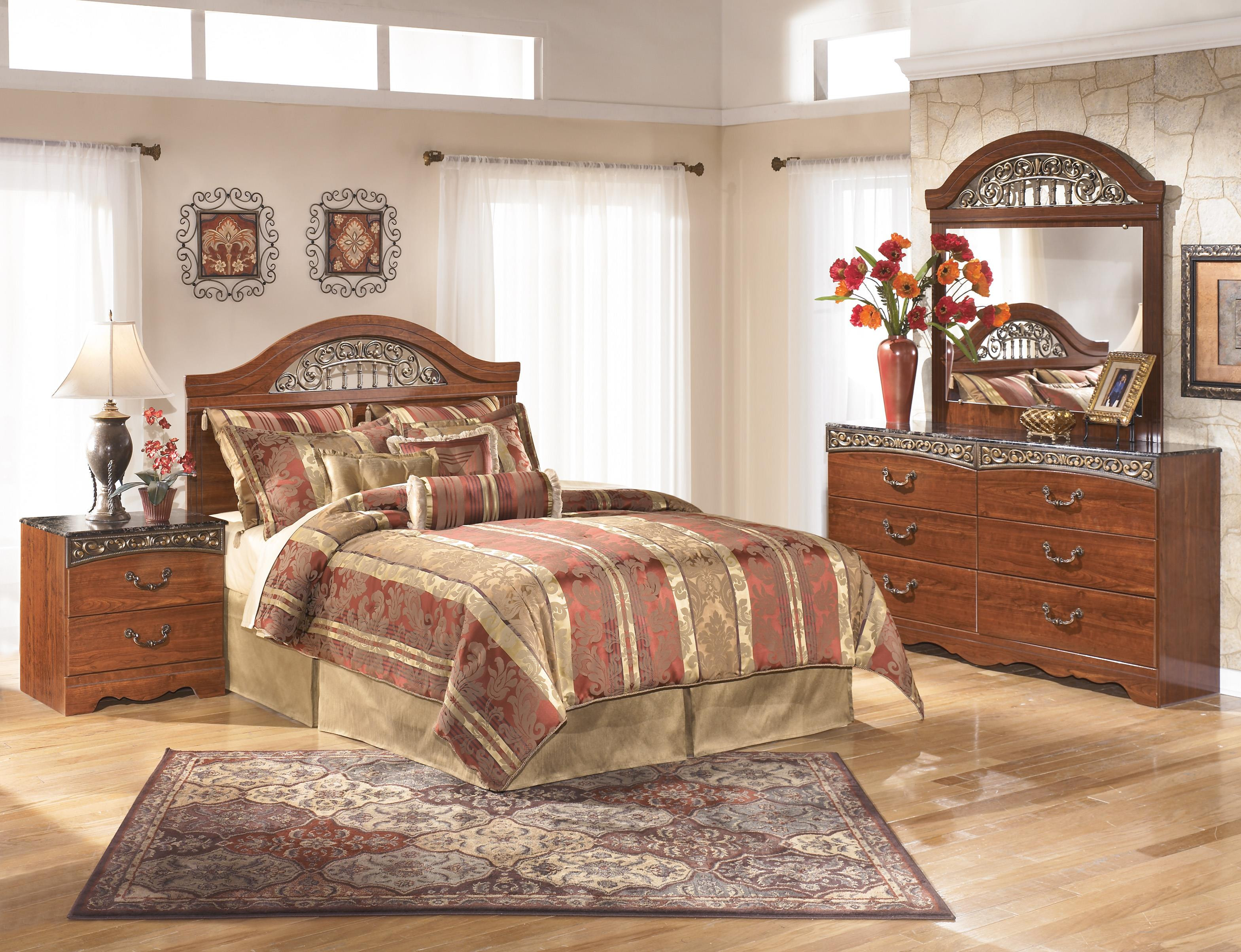 Best ideas about Ashley Bedroom Sets . Save or Pin Signature Design by Ashley Fairbrooks Estate Queen Bedroom Now.