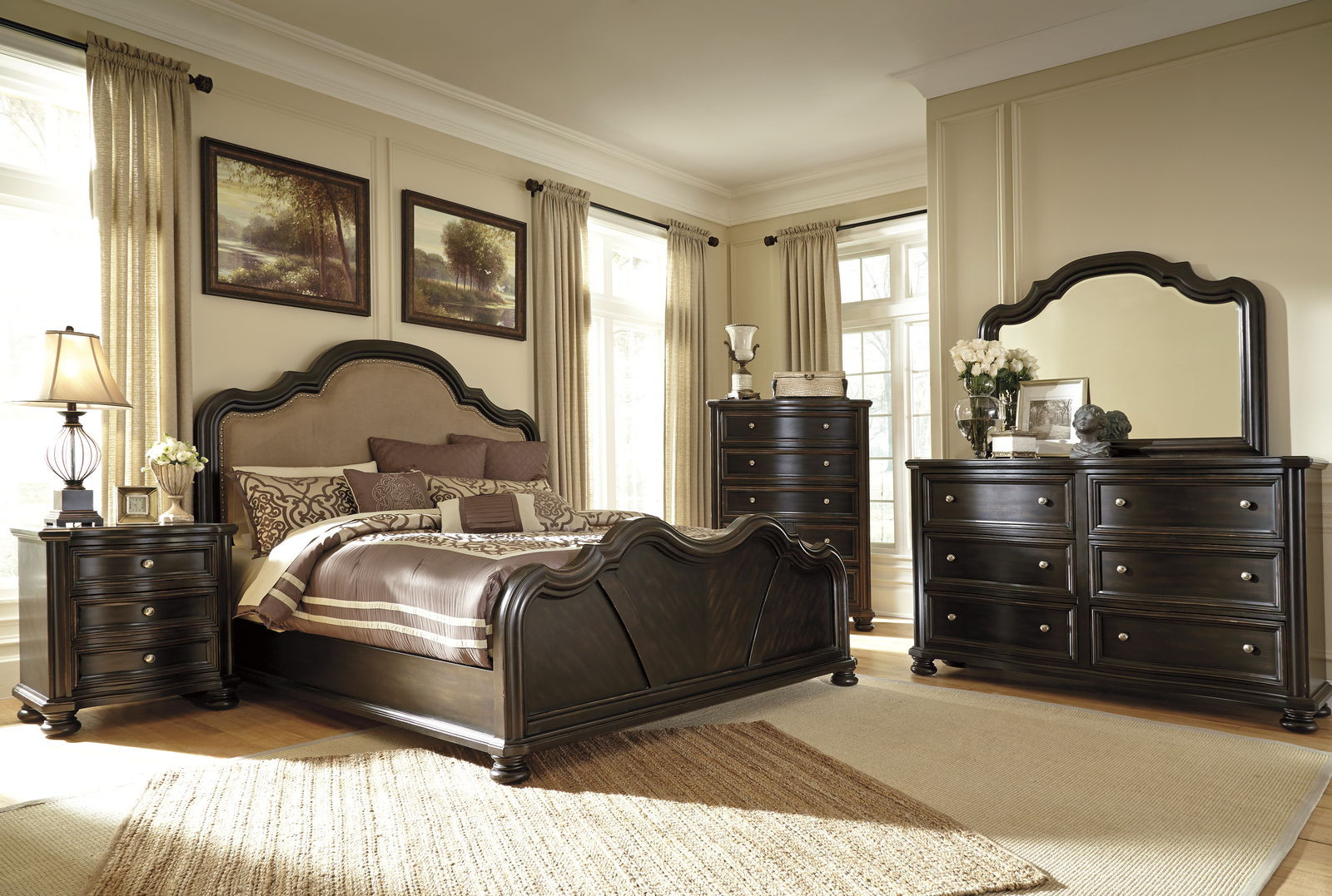 Best ideas about Ashley Bedroom Sets . Save or Pin Ashley Furniture Black Bedroom Set Now.