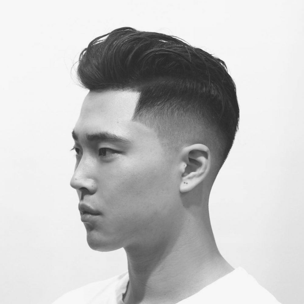 Asian Undercut Hairstyle  41 Fresh Disconnected Undercut Haircuts for Men in 2018