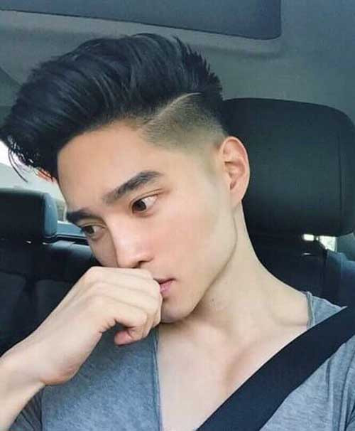 Asian Undercut Hairstyle  10 Japanese Mens Hairstyles