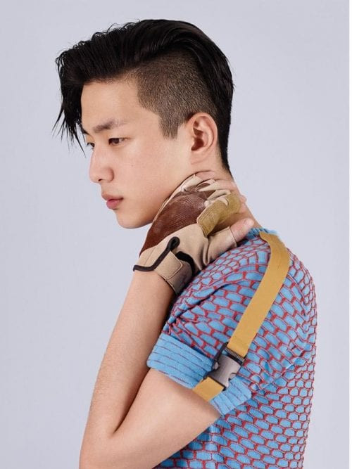 Asian Undercut Hairstyle  Top 11 Trendy Asian Men Hairstyles 2018