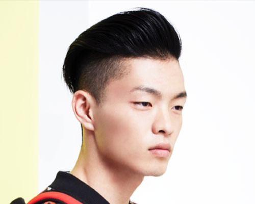 Asian Undercut Hairstyle  Fun an Edgy Asian Men Hairstyles