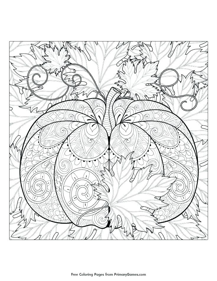Autumn Coloring Pages For Adults  Autumn Coloring Pages For Adults