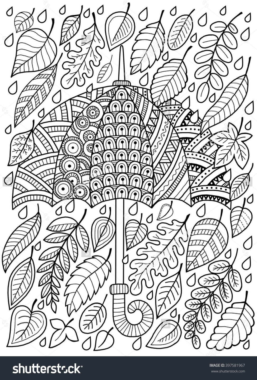 Autumn Coloring Pages For Adults  Autumn Coloring Pages For Adults – Color Bros