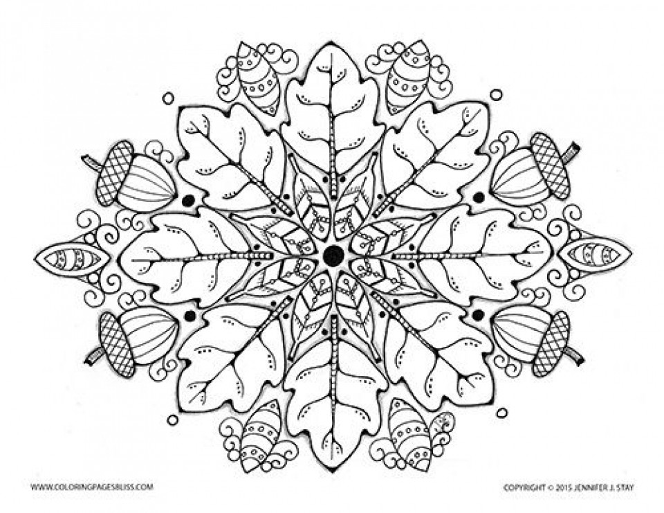 Autumn Coloring Pages For Adults  20 Free Printable Autumn Fall Coloring Pages for Adults