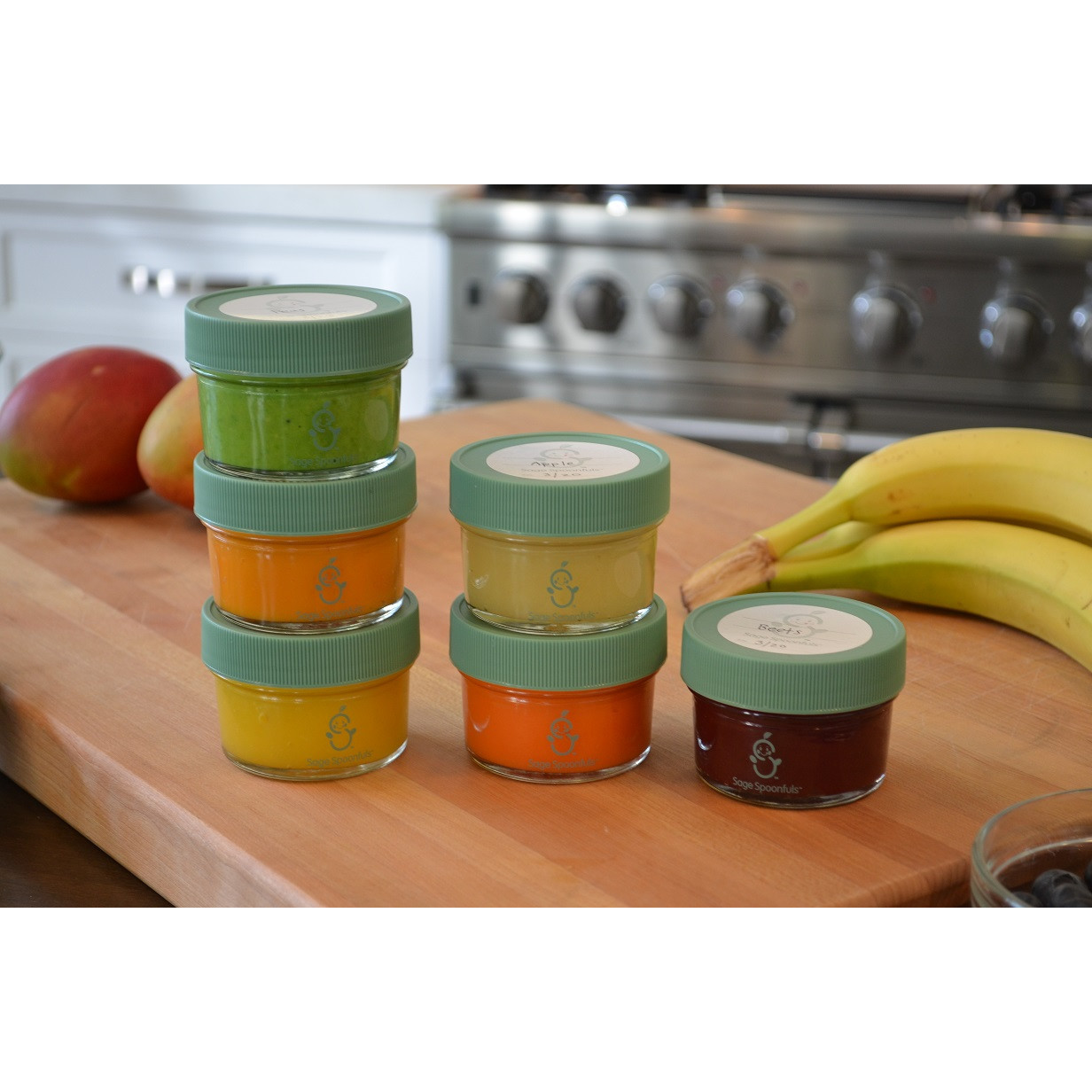 Best ideas about Baby Food Storage . Save or Pin Sage Spoonfuls Glass Baby Food Storage Jar Now.