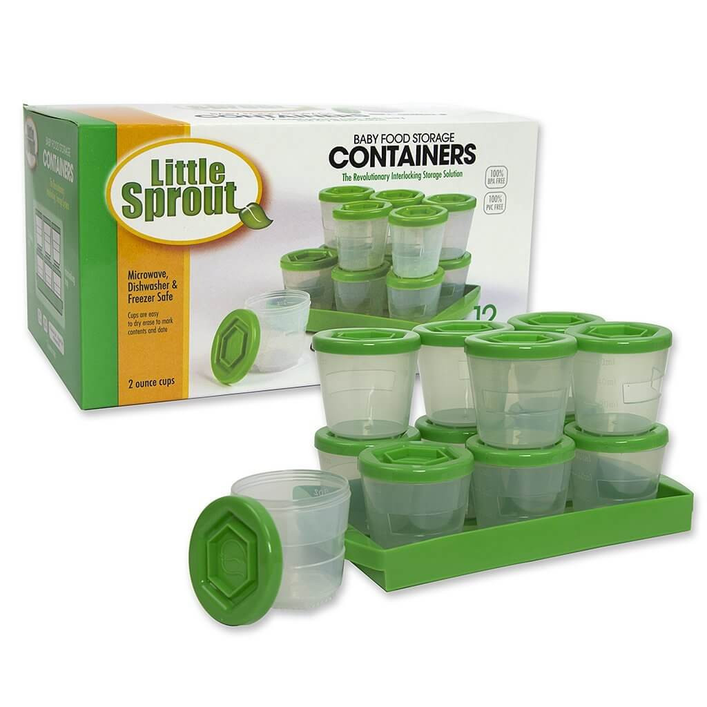 Best ideas about Baby Food Storage . Save or Pin Little Sprout Baby Food Storage Now.