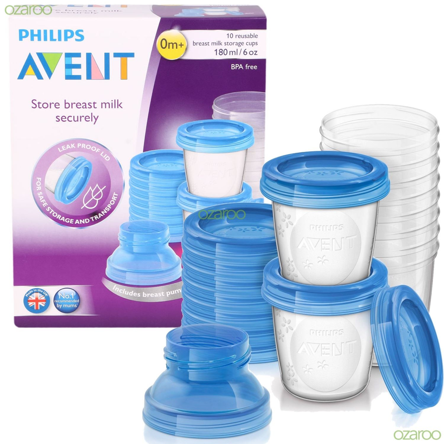Best ideas about Baby Food Storage . Save or Pin New Philips Avent Reuseable 10 Breast Milk Baby Food Now.