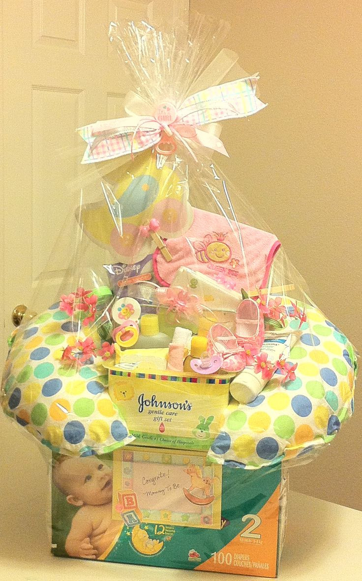 Baby Gift Ideas Pinterest  52 best baby t baskets images on Pinterest