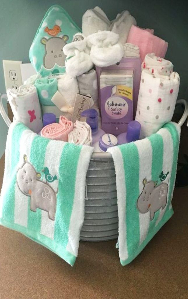 Baby Gift Ideas Pinterest  DIY t ideas easy and cheap baby shower ts to make