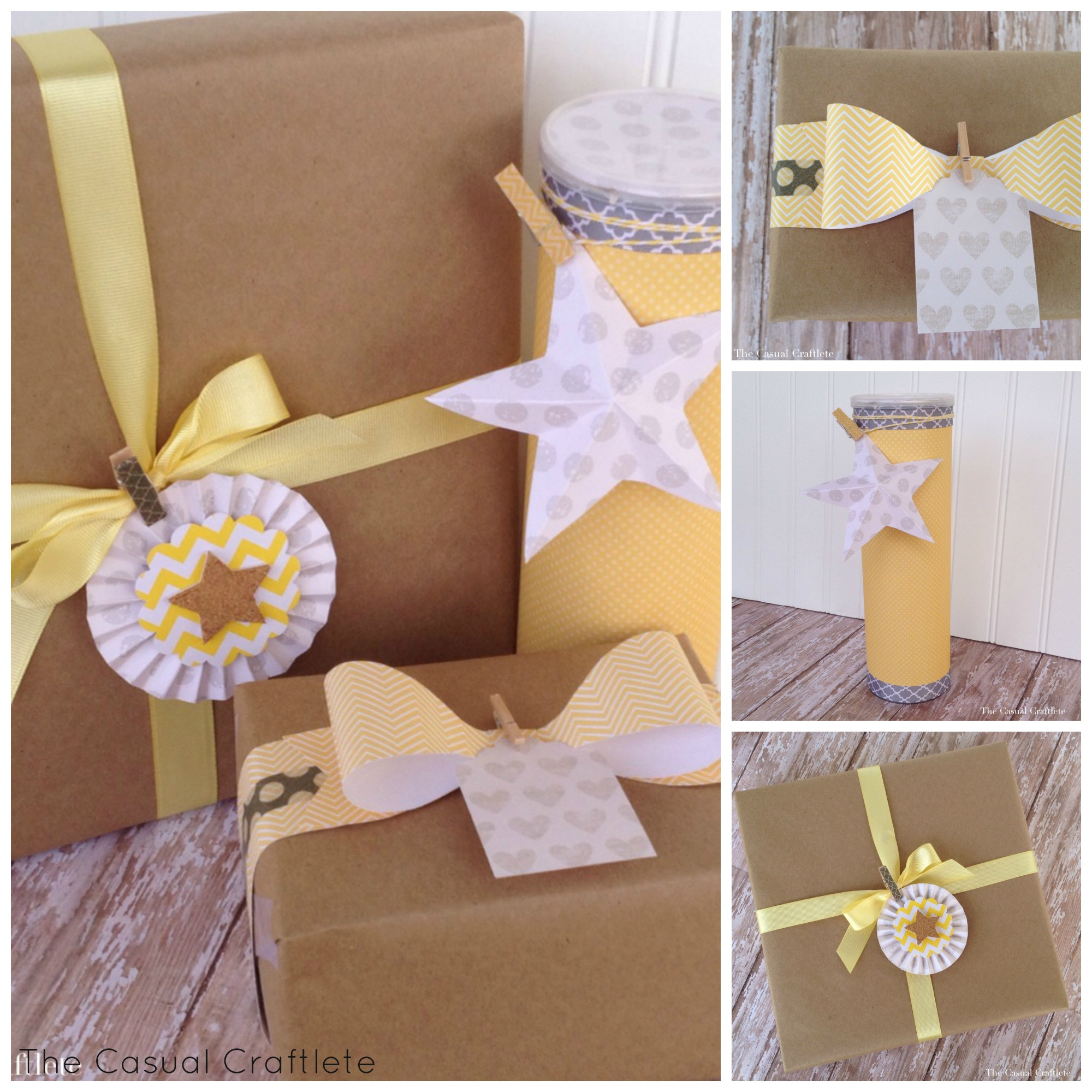 Baby Gift Wrap Ideas  Pretty Gift Wrapping Ideas Purely Katie